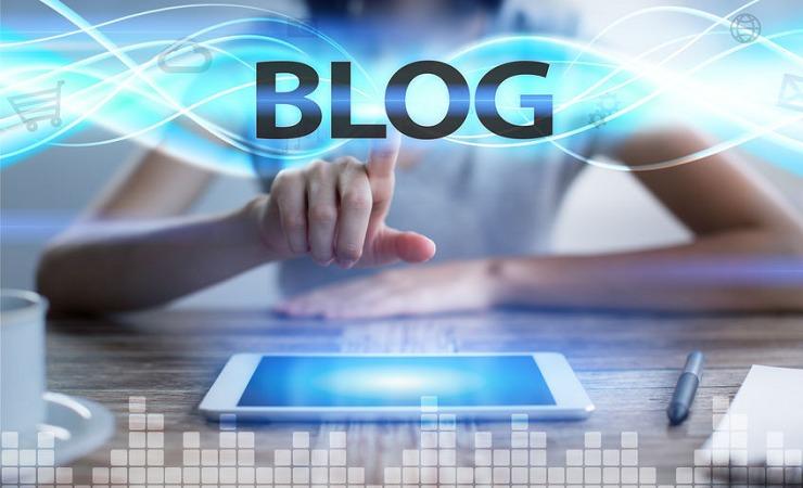 ブログの書き方の手順のイメージ画像